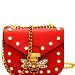 Handbags - Butterfly Pearl Purse (NEW)